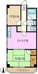 川村ビル[2階]の間取り