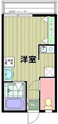 東京都豊島区千早1丁目の賃貸アパートの間取り
