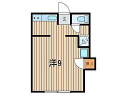 浦和本太アパート[2階]の間取り