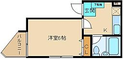 武田ビル[3階]の間取り