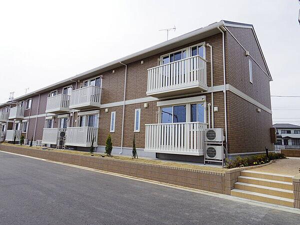 茨城県つくば市みどりの東の賃貸アパート