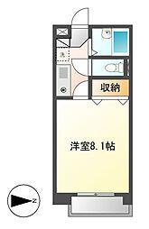 リバーサイドタカセ[5階]の間取り