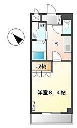 Villa Fleur[3階]の間取り