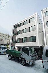 北海道札幌市白石区菊水四条2の賃貸マンションの外観