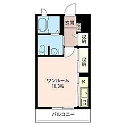 aile KOMAZAKI[2階]の間取り