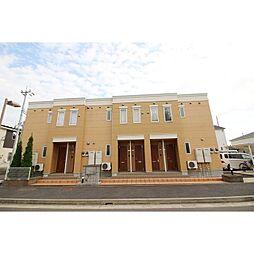 茨城県つくば市みどりの2丁目の賃貸アパートの外観