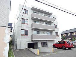 北海道札幌市南区澄川六条4丁目の賃貸マンションの外観
