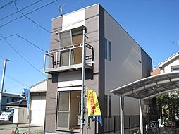 愛知県名古屋市北区三軒町の賃貸アパートの外観