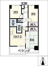 センチュリーコート[4階]の間取り