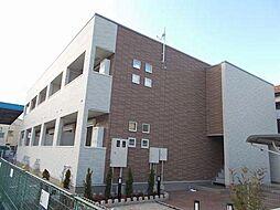 兵庫県姫路市飾磨区三宅1丁目の賃貸アパートの外観