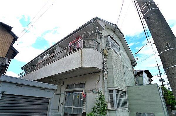 青和ハイムパート2[1階]の外観