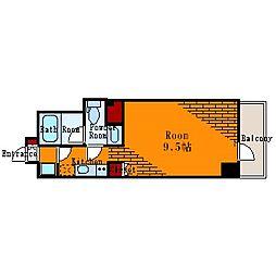 ルモーデ亀戸[5階]の間取り