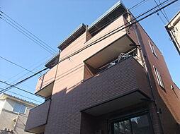 東京都新宿区西落合1丁目の賃貸アパートの外観