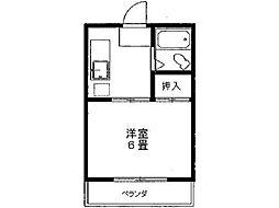 コーポ80[2階]の間取り