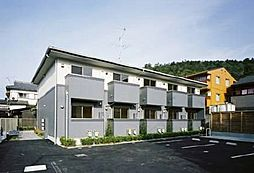 京都府京都市北区上賀茂北大路町の賃貸アパートの外観