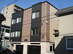 北海道札幌市東区北十五条東14丁目の賃貸アパートの外観