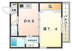 Mare BluI[2階]の間取り