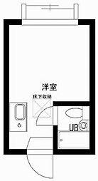 東京都狛江市和泉本町3丁目の賃貸アパートの間取り