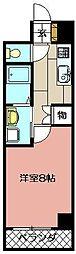 エクセレント藤[107号室]の間取り