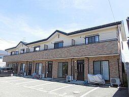新潟県新潟市江南区西町6丁目の賃貸アパートの外観