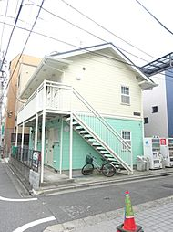 東京都北区中十条3の賃貸アパートの外観