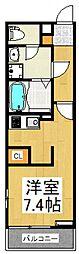 リブリ・Tメゾン[1階]の間取り