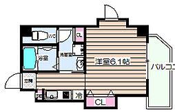 オリエンタル福島[7階]の間取り