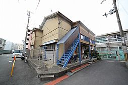 大阪府東大阪市玉串町西1丁目の賃貸アパートの外観