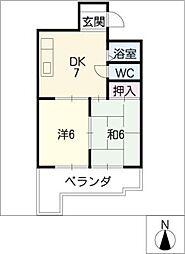 八事第一ビル[3階]の間取り