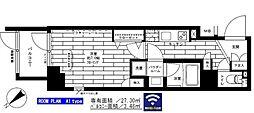 西武新宿線 鷺ノ宮駅 徒歩8分の賃貸マンション 1階1Kの間取り