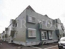 北海道札幌市豊平区西岡五条14丁目の賃貸アパートの外観