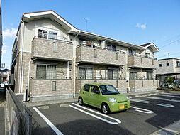 愛知県清須市土田2丁目の賃貸アパートの外観