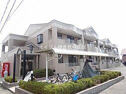 岡山県倉敷市茶屋町の賃貸マンションの外観