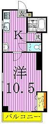 東京都足立区西保木間3丁目の賃貸マンションの間取り