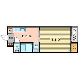 SPマンション[3階]の間取り