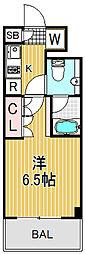 SIL西五反田[4階]の間取り
