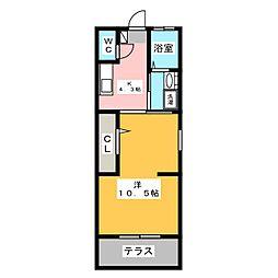 メゾンNEO[1階]の間取り