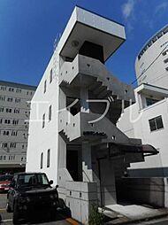 山崎マンション[1階]の外観