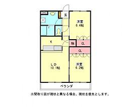 愛知県一宮市今伊勢町馬寄字宮東の賃貸アパートの間取り