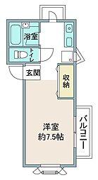 M−1[C号室]の間取り