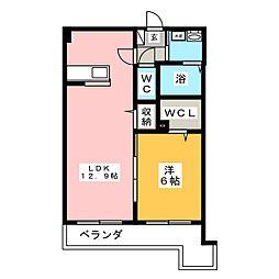 リオーネ21[1階]の間取り