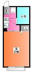 シティハイムムラタ[1階]の間取り