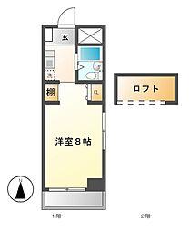 BELLE TOPIA稲沢II[4階]の間取り