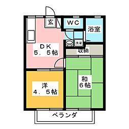 北岡崎駅 3.8万円