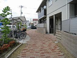 大阪府東大阪市衣摺2丁目の賃貸アパートの外観