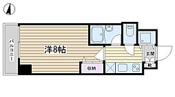 コンフォリア文京白山[307号室]の間取り