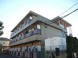 東京都青梅市新町2丁目の賃貸マンションの外観
