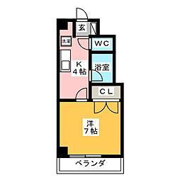 メゾン・ド・藤[3階]の間取り