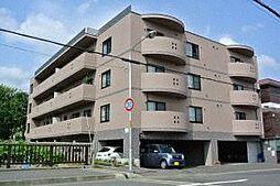 北海道札幌市西区宮の沢三条4丁目の賃貸マンションの外観
