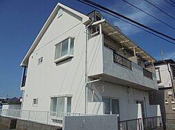 東京都武蔵村山市榎2丁目の賃貸アパートの外観